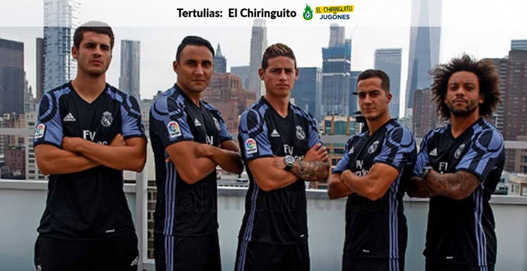 Camiseta, Real Madrid, El Chiringuito