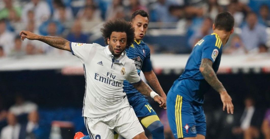 Marcelo, Real Madrid, Celta