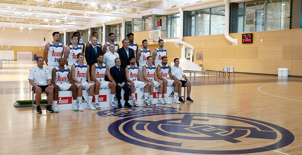Real Madrid, foto oficial, baloncesto
