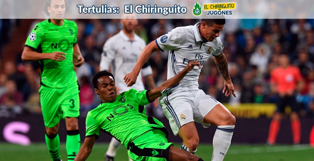 Real Madrid, Sporting, El Chiringuito