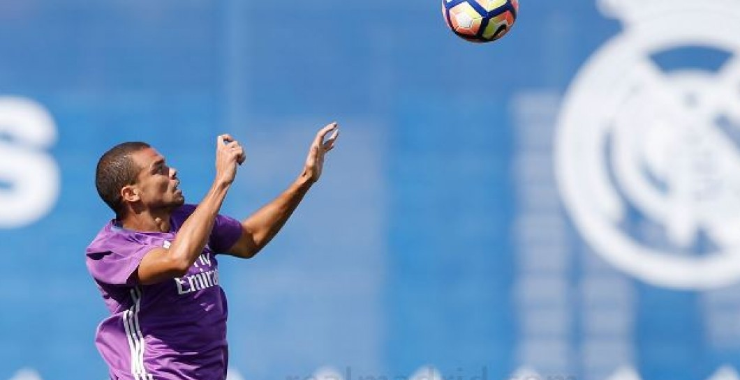 Pepe, entrenamiento, Real Madrid