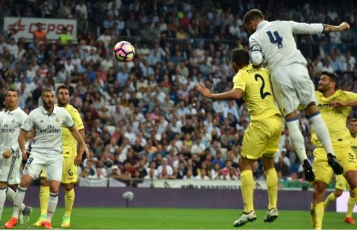 Sergio Ramos. dos goles y 540 minutos después...
