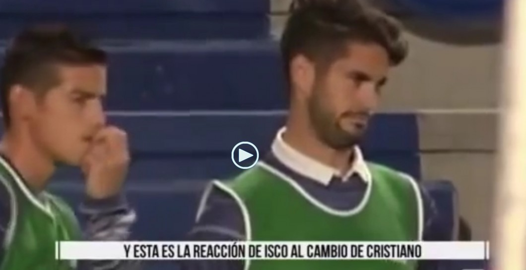 Isco, James, reacción