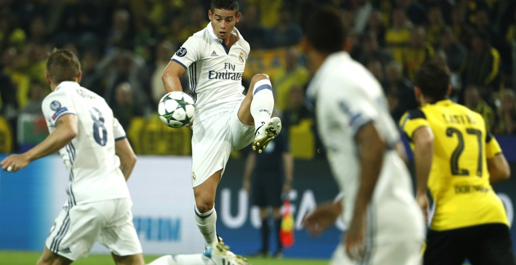 James, Borussia, Real Madrid