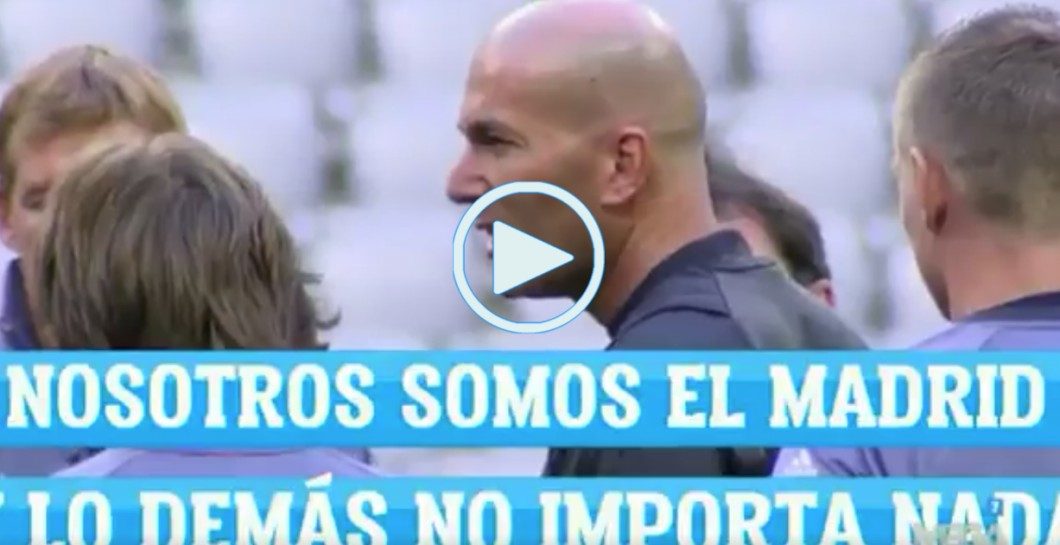 video, charla, Zidane