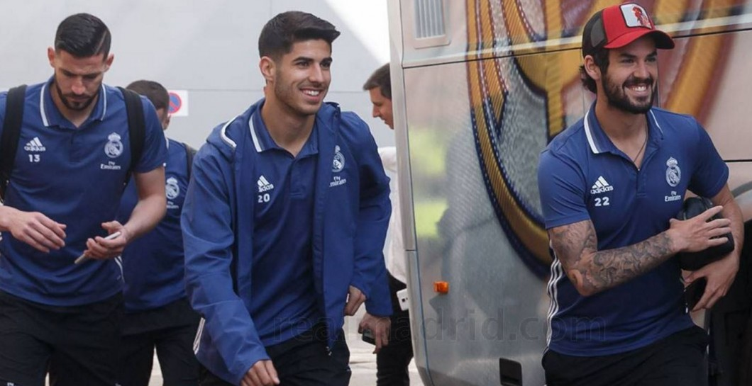 Isco, Asensio, concentración, Real Madrid