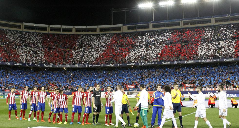 Atleti-Real Madrid, Calderón
