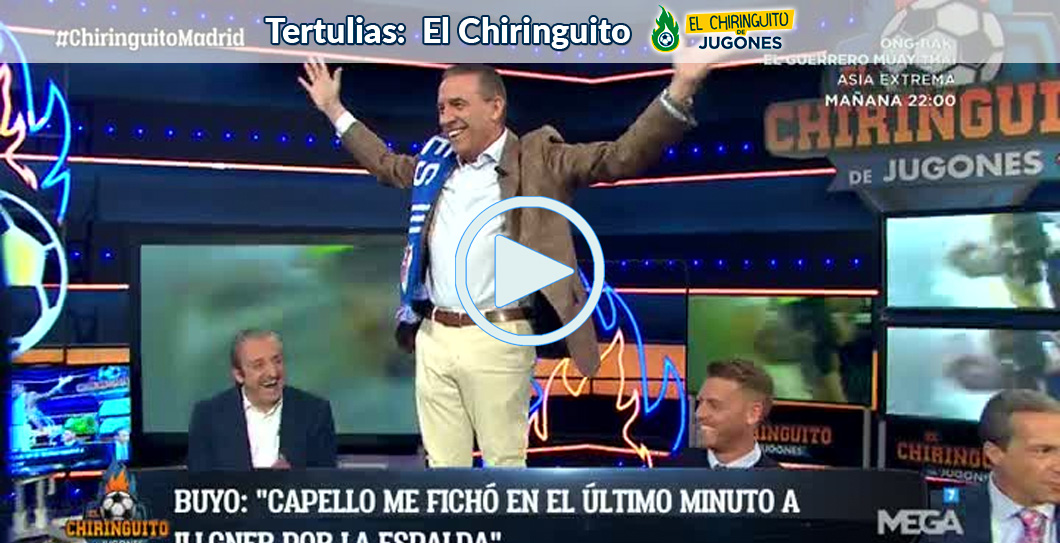 Paco Buyo, Video, El Chiringuito