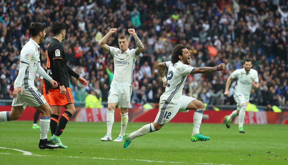 Real Madrid, Gol, Liga
