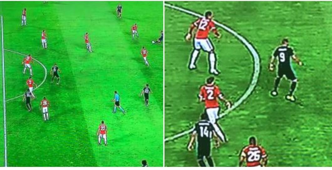 No hay fuera de juego de Casemiro vs United