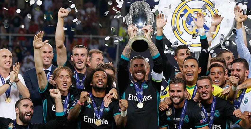 Campeones de la Supercopa de Europa