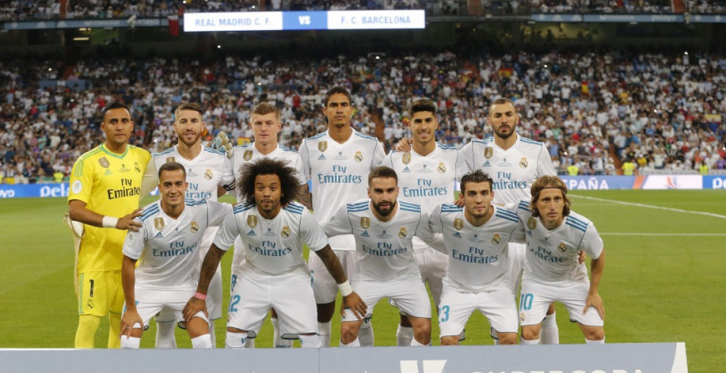 11 del Real Madrid en la Supercopa
