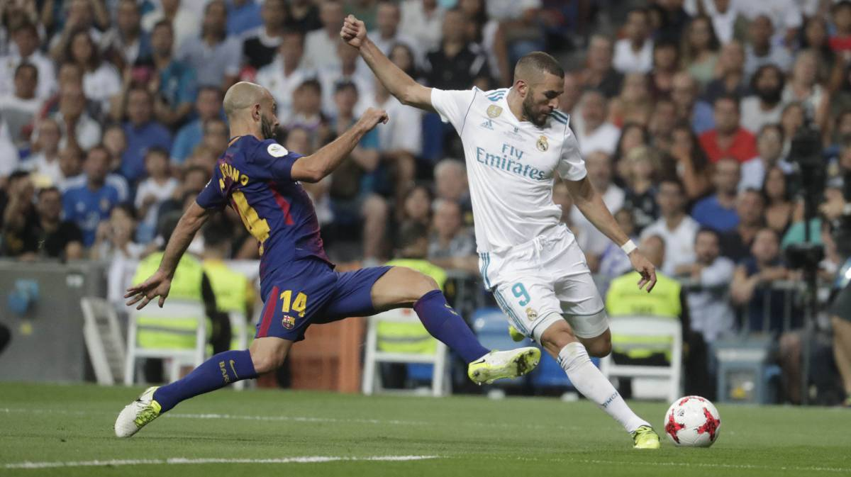 Benzema Real Madrid, Barcelona, Supercopa