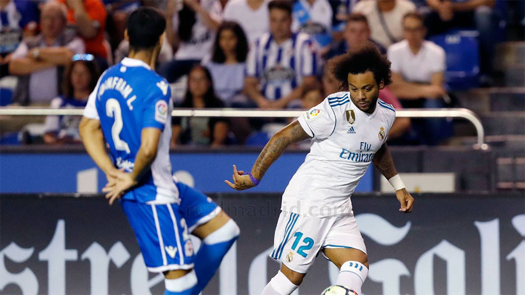 Deportivo, Real Madrid, Liga, Marcelo