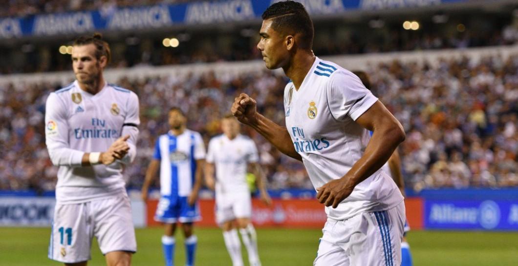 Casemiro, gol, Deportivo, Real Madrid