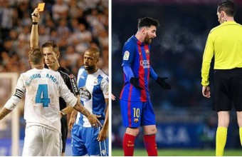 Comparación Ramos-Messi