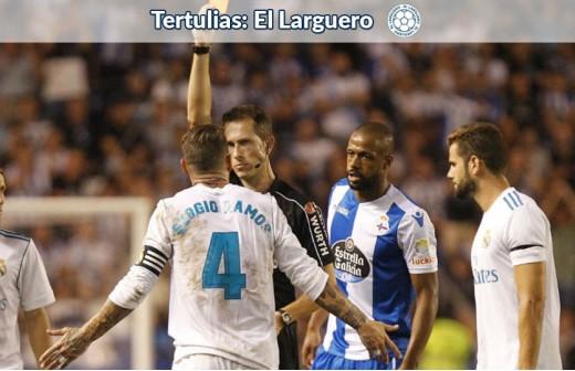 La rocambolesca razón de Iturralde para las expulsiones de Ramos
