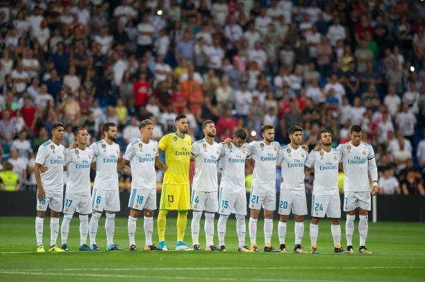 Real Madrid, Minuto silencio