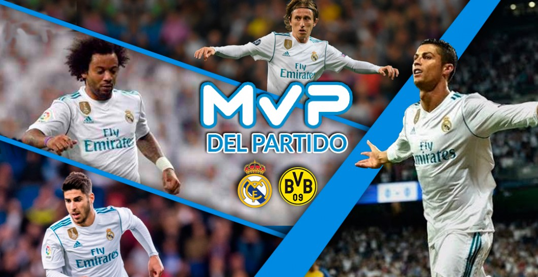 MVP Real Madrid-Dortmund