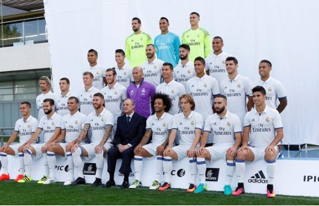 Plantilla del Real Madrid