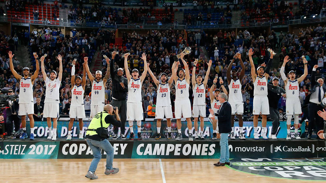Real Madrid, Copa del Rey, Baloncesto