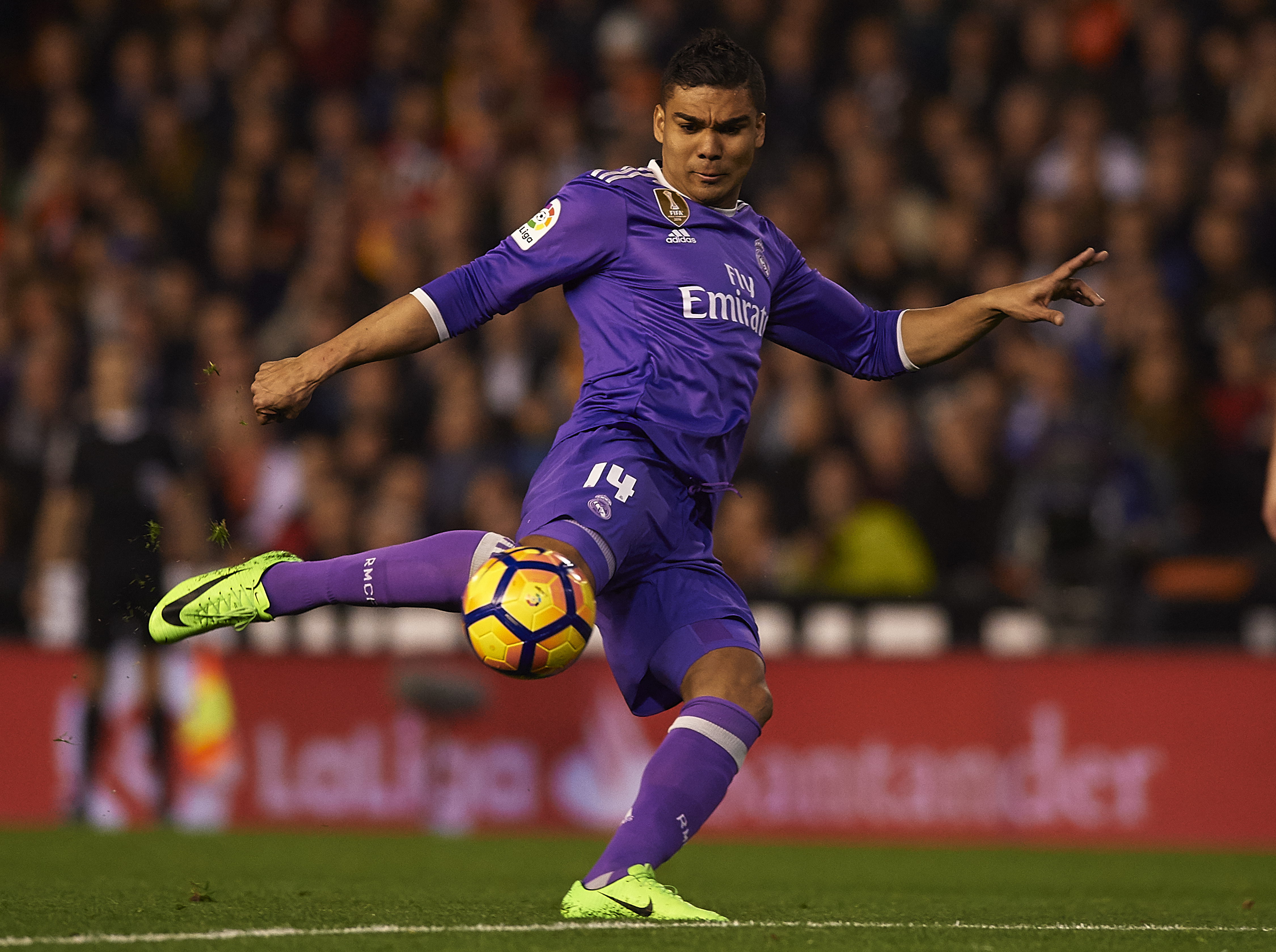 Casemiro, Valencia, Real Madrid