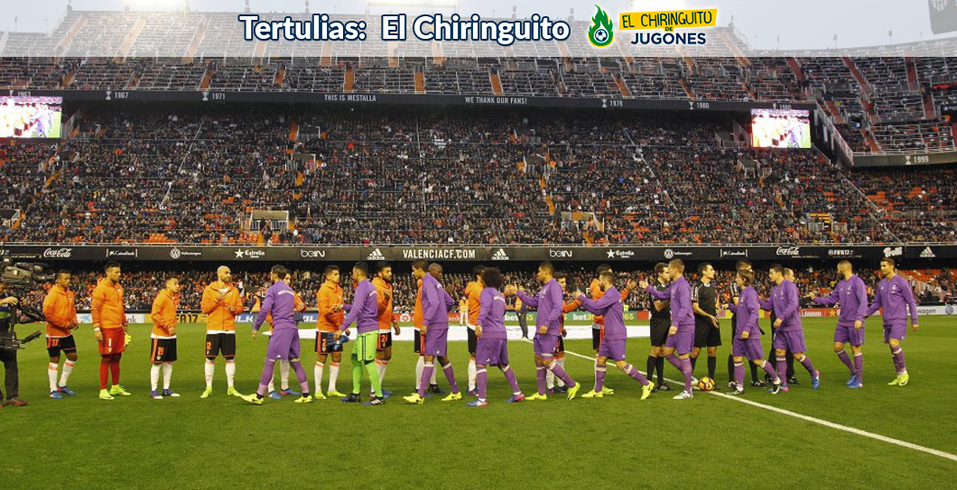 Valencia, Real Madrid, El Chiringuito