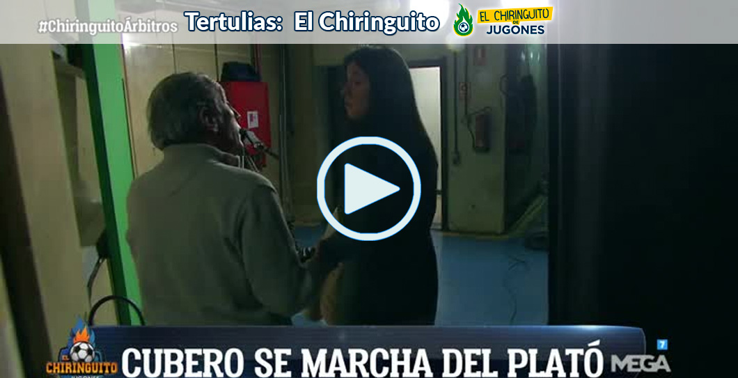 Cristina Cubero, El Chiringuito, video