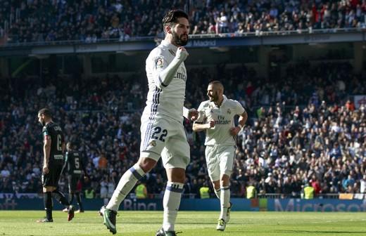 ¿Qué hizo Isco en el Bernabéu tras el partido ante el Espanyol?