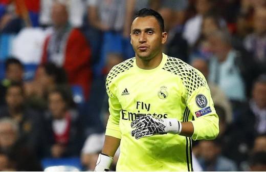 Keylor le dio dos puntos al Real Madrid ante el Málaga