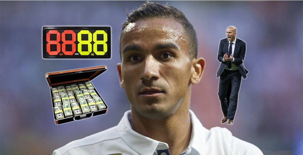 Danilo, Real Madrid, Montaje