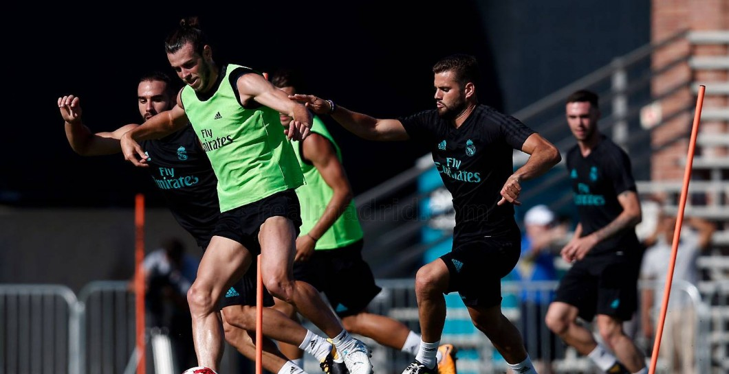 Entrenamiento del Real Madrid 2017-2018