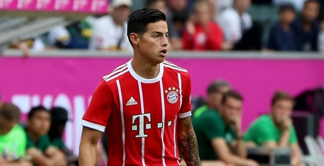 James, Bayern, Debut