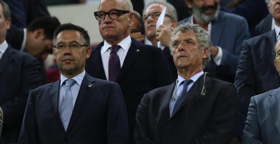 Villar en el Camp Nou