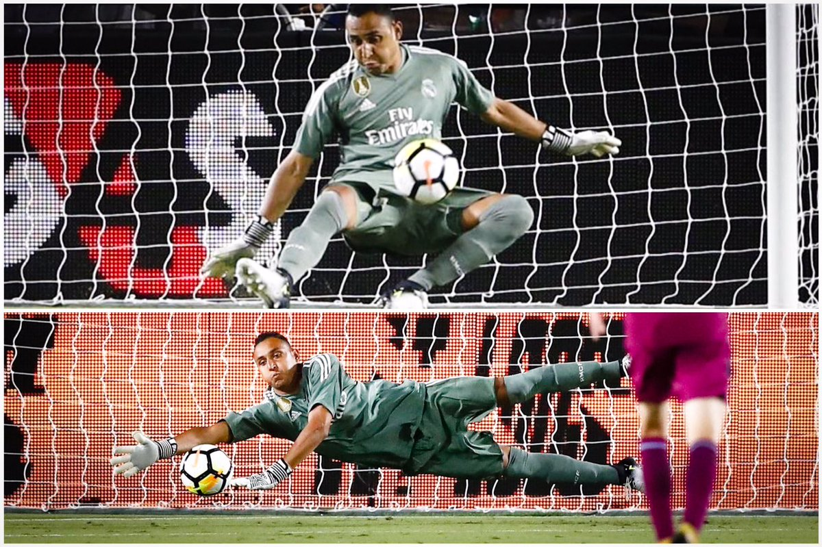 Keylor Navas vs City