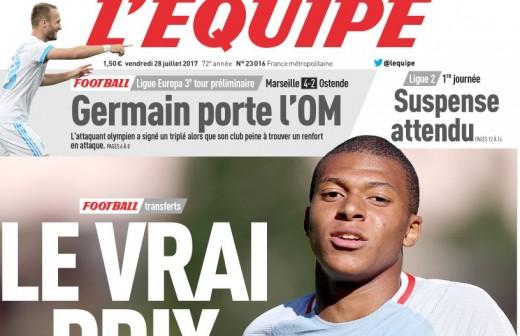 FRA: ¿Cuánto cuesta realmente Mbappé?