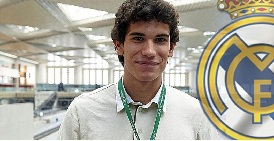 Montaje Jesús Vallejo y Real Madrid