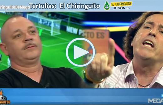 Hermel y Pipi, a la gresca por el peso de Benzema