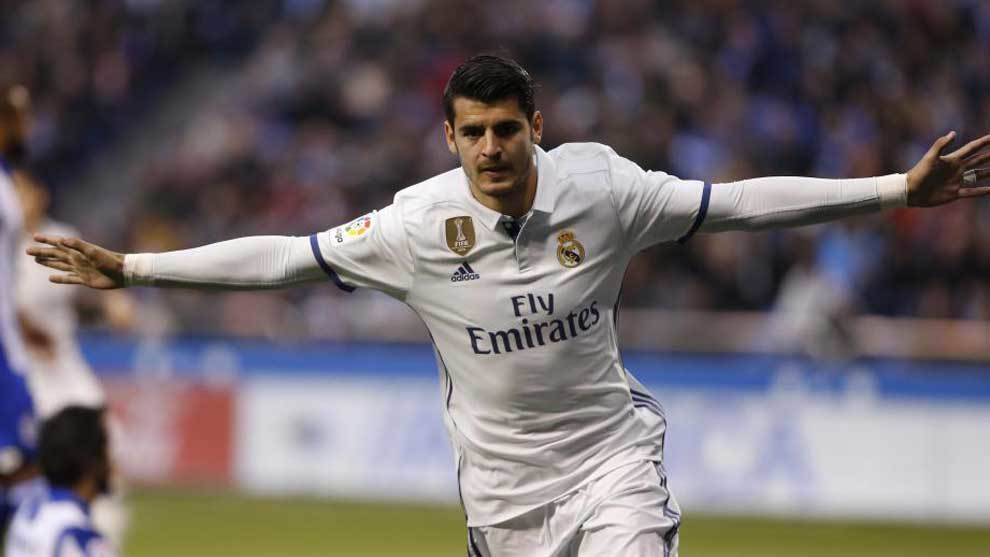 Morata, Real Madrid, Gol