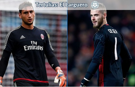 Gianluigi Donnarumma y David De Gea