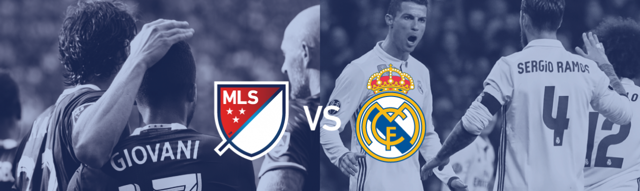 MLS All Star. Real Madrid