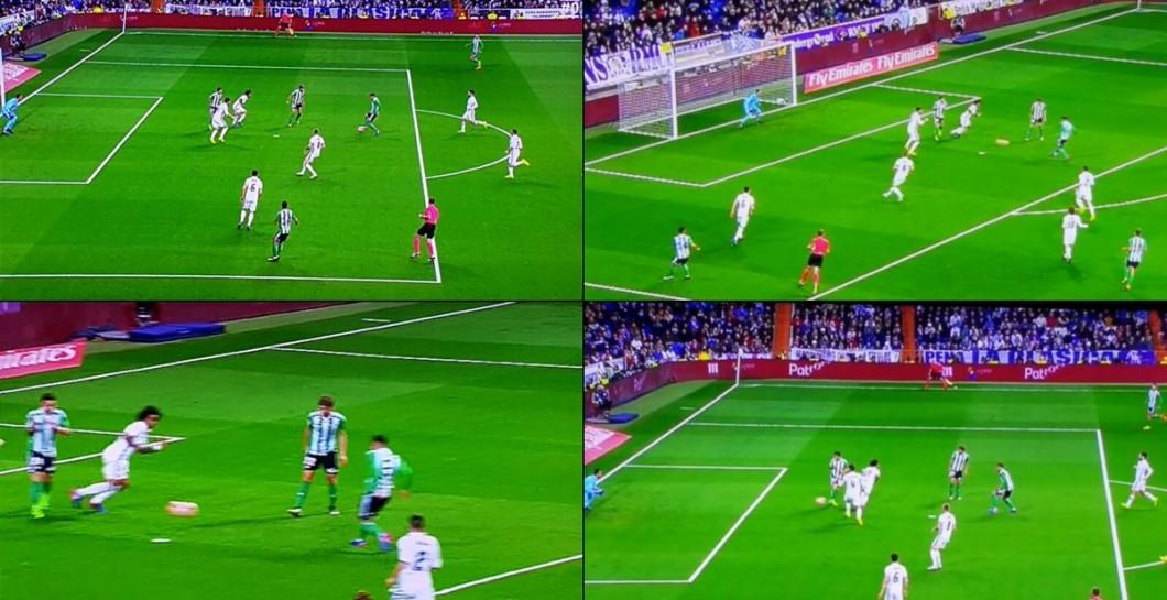 El gol del betis fue otro 39 robo 39 al real madrid for Fuera de juego real madrid