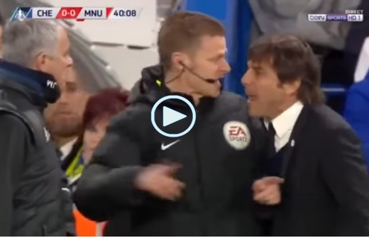 Conte, Mourinho, Chelsea, Manchester United