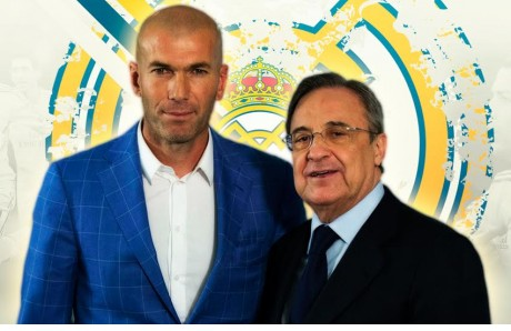 Florentino, Zidane, Real Madrid