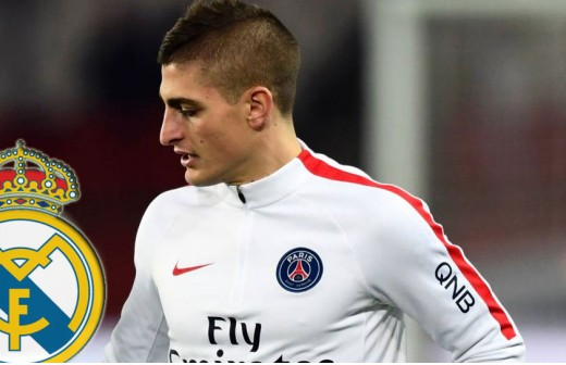 Montaje Marco Verratti y Real Madrid