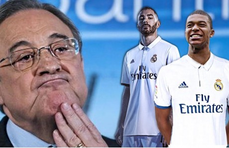 Florentino Mbappé y Benzema