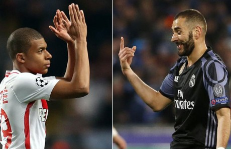 Benzema y Mbappe