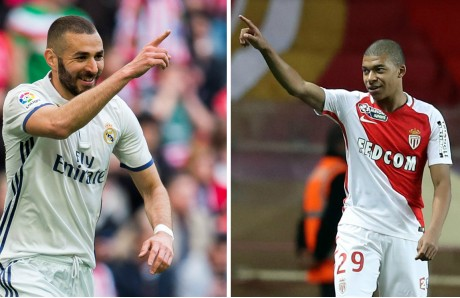 Benzema y Mbappé