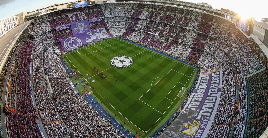 Estadio Santiago Bernabéu, Mosaico, Derbi