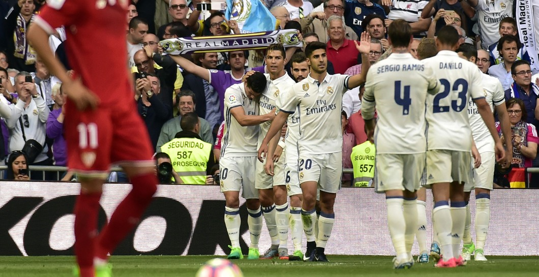Real Madrid gol al Sevilla